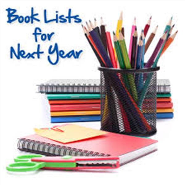 Book Lists 2018/2019