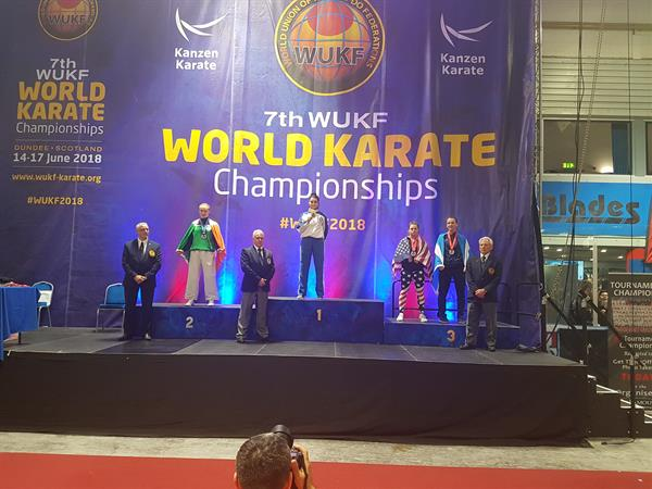 World Karate Championship Medalist