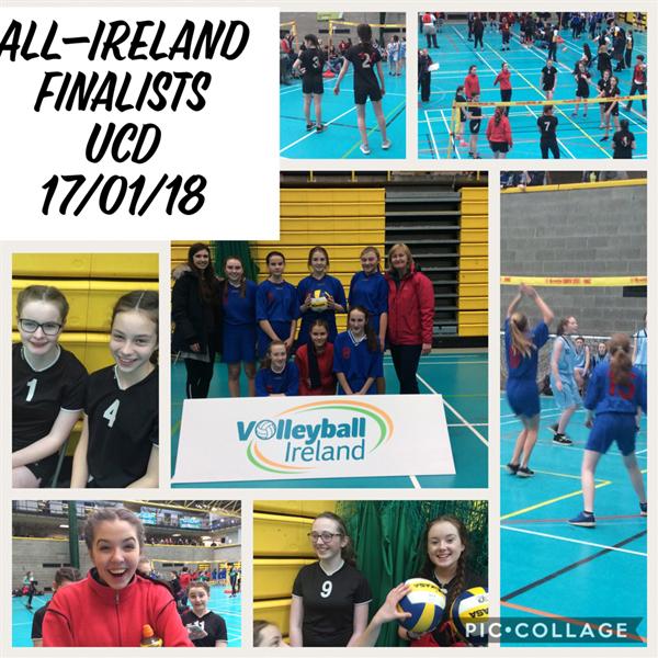 All-Ireland Finalists UCD 17/01/18