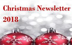 Christmas 2018 Newsletter