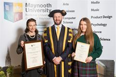 Business Students honoured at Maynooth University