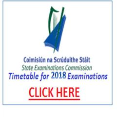 State Exams Timetable