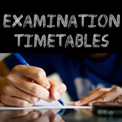 State Exam Timetables