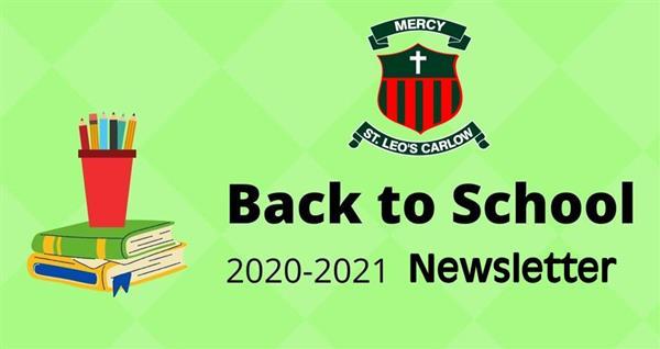 Back to School Newsletter September 2020