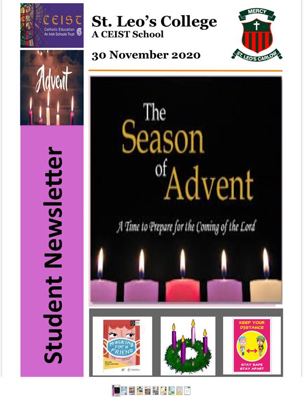 Student Newsletter 30 November 2020