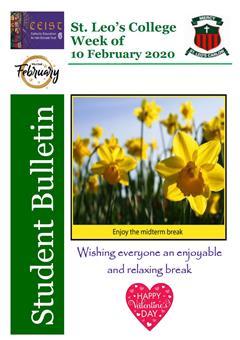 Student Newsletter W/C 10 February 2020