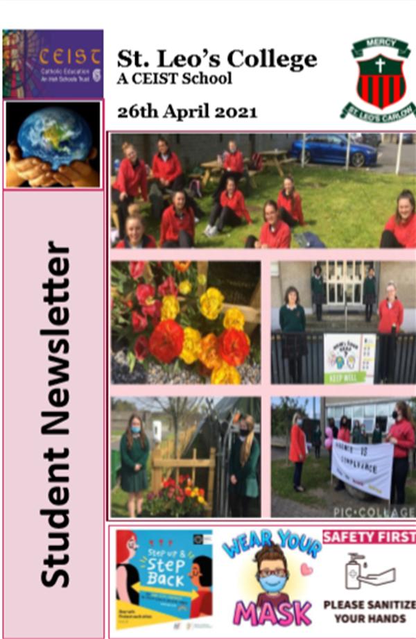 Student Newsletter 26 April 2021