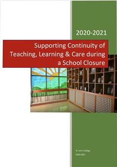 Supporting Continuity of Teaching, Learning and Care 2021