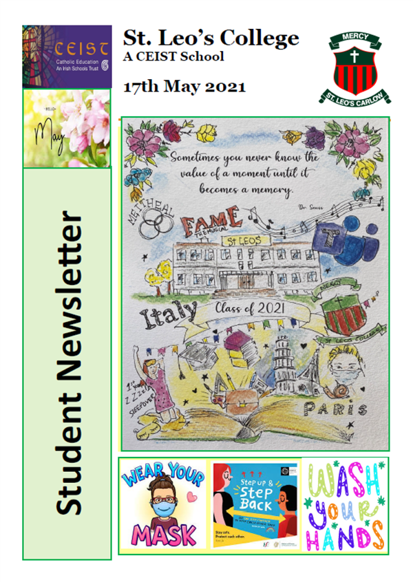 Student Newsletter 17th May 2021