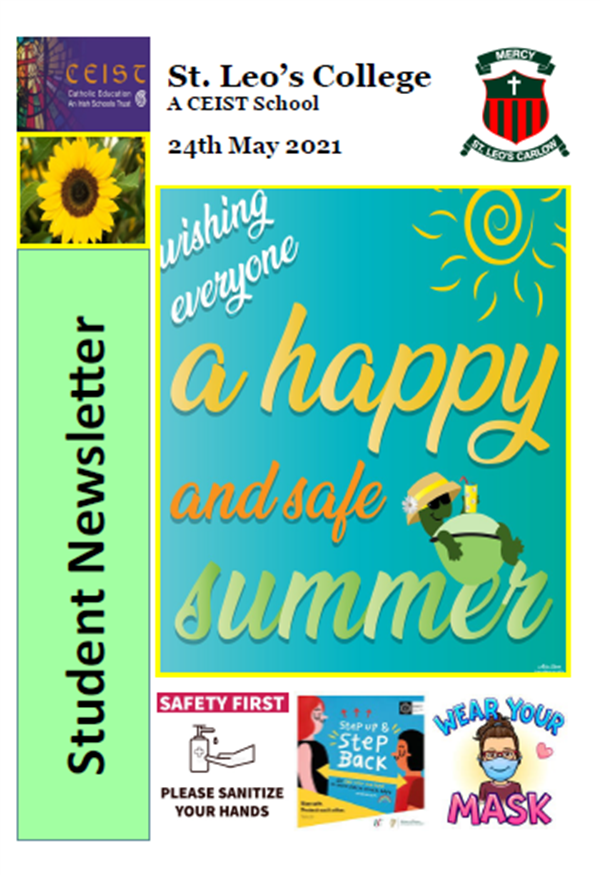 Student Newsletter 24th May