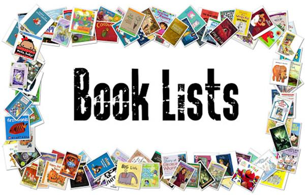 Book lists 2021/2022