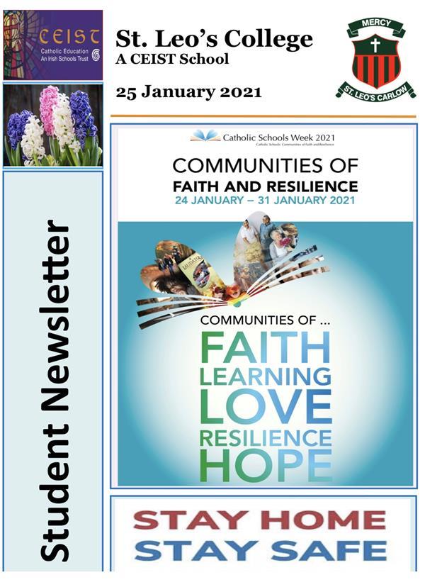 Student Newsletter 25 January 2021