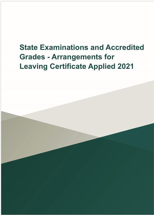 Arrangements for Leaving Certificate Applied 2021