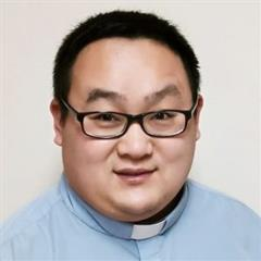Easter Blessings from Fr. Yanbo Chen